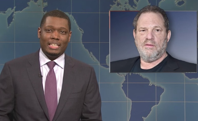 SNL Finally Targets Harvey Weinstein: 'He Doesn't Need Rehab,' He Needs 'Prison'