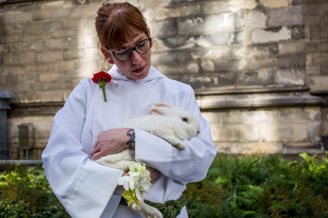 Inside NYC's Very Cute Animal Blessing At St. John The Divine
