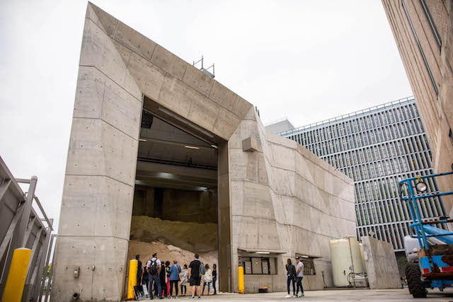 Inside The DSNY's Off-Limits Futuristic 'Smart' Garage & Salt Shed On The Hudson River