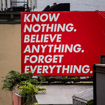 Photos: Barbara Kruger's Bold Statement Pieces Now Up Around NYC