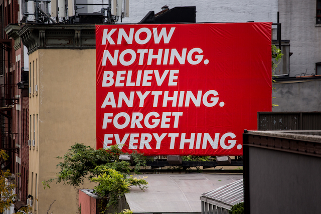 Photos: Barbara Kruger's Bold Statement Pieces Now Up Around NYC