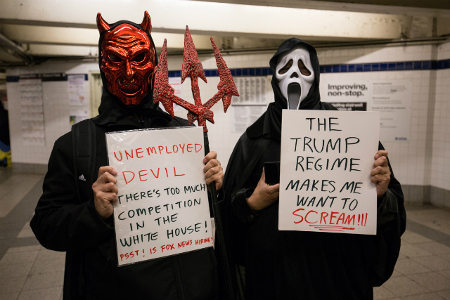 Photos: The Best Halloween Costumes On The NYC Subway (Round 2)