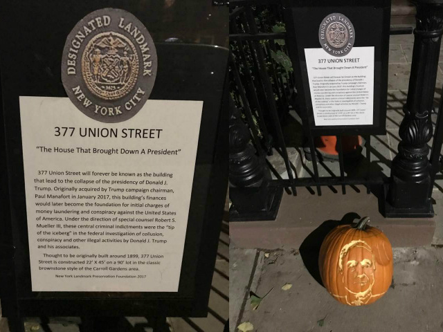 Paul Manafort's Brooklyn Brownstone Gets Unofficial Landmark Status