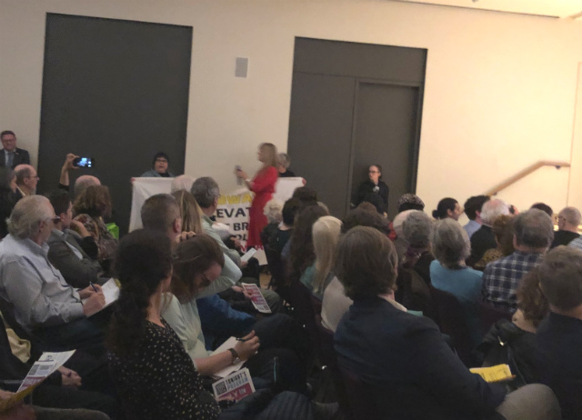 Disability Rights Activists Disrupt MTA Talk, Demanding Subway Accessibility