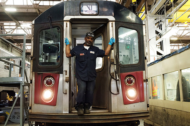 Inside The Cavernous Workshop Where Subway Trains Get Fixed
