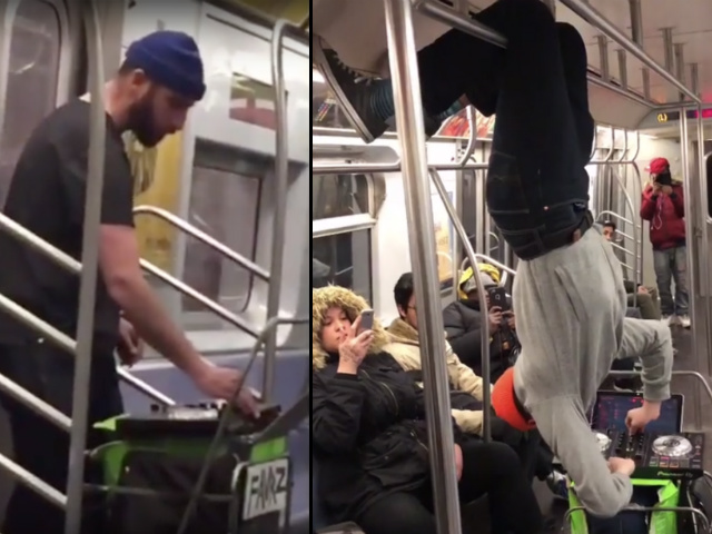 NYC's Most Committed Busking Subway DJ Brings Ootz Ootz To Evening Commute