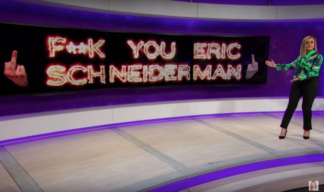 Samantha Bee Sends A Simple Message To Eric Schneiderman