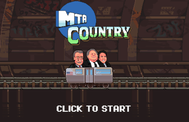 Help Gregg T Navigate The Subway System In This Online MTA Game