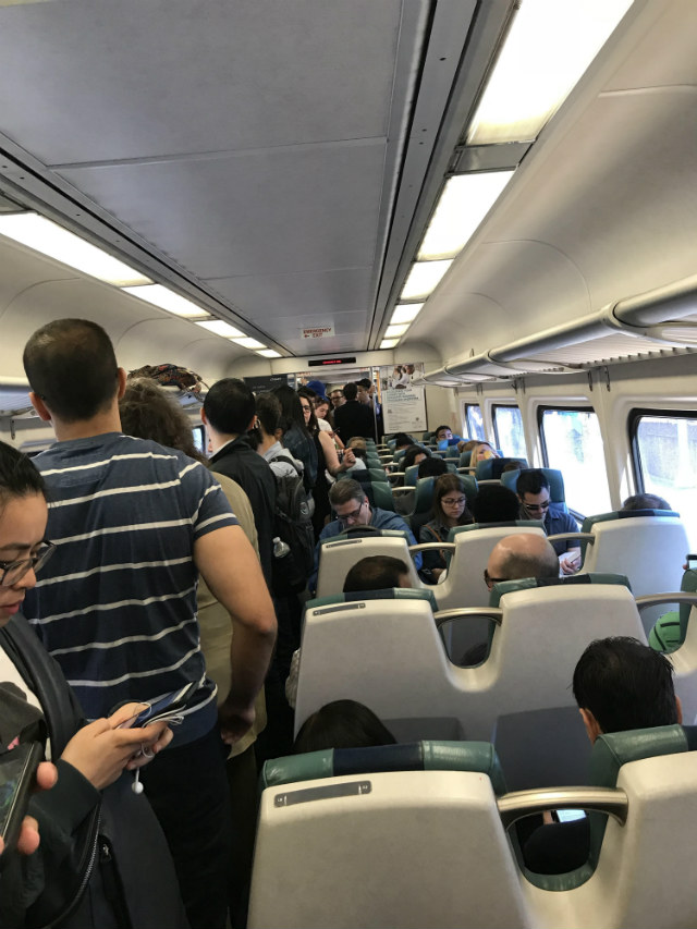 'I've NEVER Seen It This Crowded': Subway Meltdown In Queens Spreads To LIRR