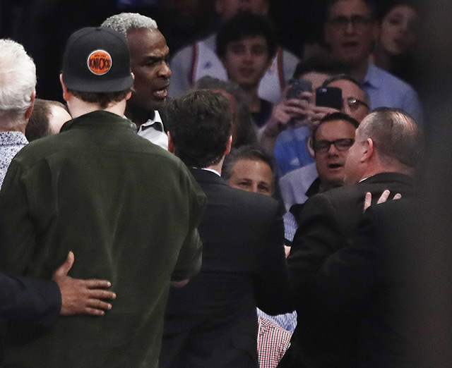 New Evidence Allegedly Shows James Dolan Calling Security On Charles Oakley, Giving 'Thumbs Up' After Brawl