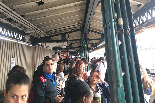 Major Monday Misery On The N, R, W, F, M, 4, 5, 6 Subway Lines
