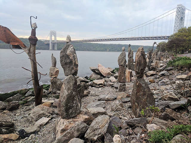 Have You Seen These Mysterious Stone Sculptures Along The Hudson River?
