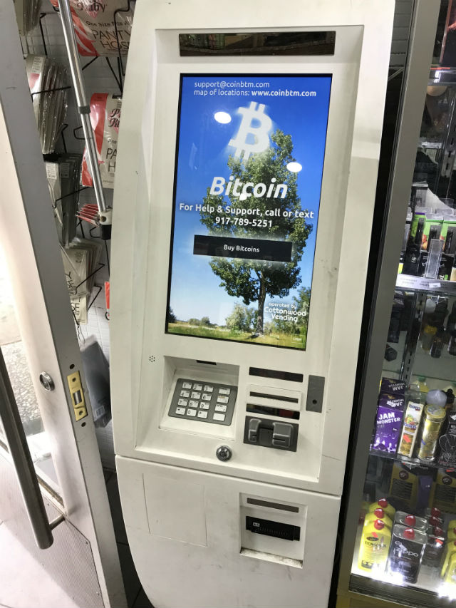 What's Up With Those Bitcoin ATMs?