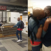 Man Bites Straphanger's Lip Off During Subway Fight