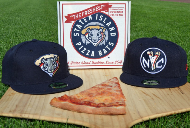 Yankees' Minor League Team To Become 'Staten Island Pizza Rats' This Summer