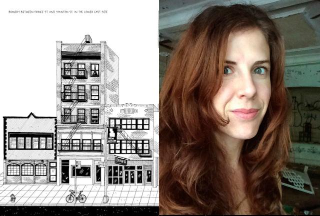 Sketchy Interviews: Cartoonist & Amateur NYC Historian Julia Wertz