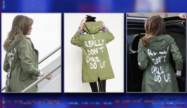 Late Night Comics Decipher Melania Trump's 'I DON'T CARE' Jacket
