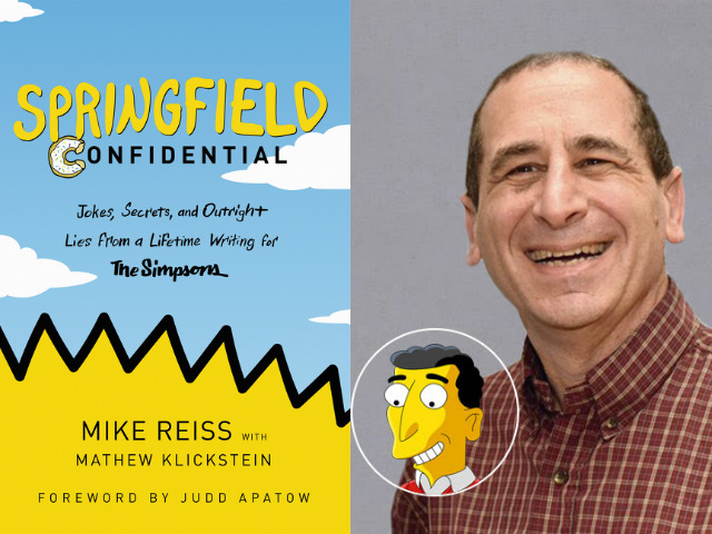 A Conversation With Veteran 'Simpsons' Writer Mike Reiss About 30 Years Of Springfield
