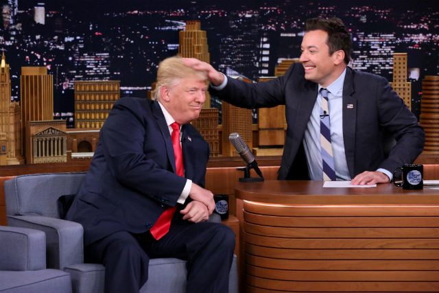 Trump And Fallon Just Can't Quit Each Other