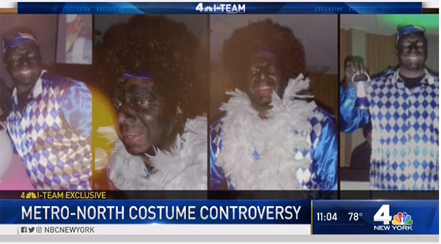 Metro-North Employee Who Wore Blackface To Party Still Works For MTA Despite Colleagues' Complaints