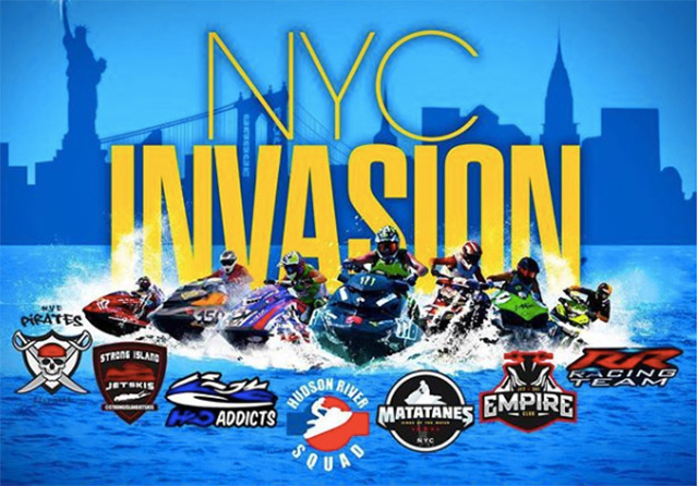 Hundreds Of Jet Skiers Will Be Tearing Around Manhattan On Saturday