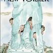 Next Week's Cover Of The New Yorker Features Migrant Children Huddled Behind Statue Of Liberty's Robes