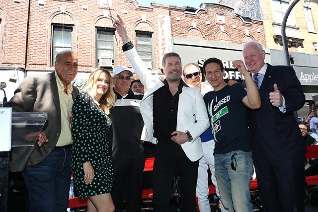 John Travolta Wigs Out At Classic Brooklyn 'Saturday Night Fever' Pizzeria