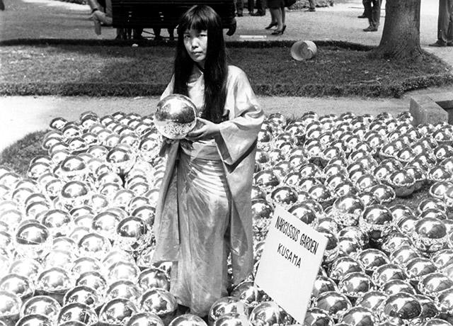 Yayoi Kusama Will Bring 1,500 Mirrored Spheres To Rockaway This Summer