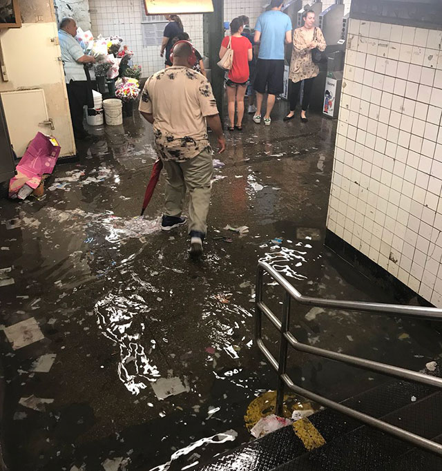 Bring Your Paddleboard For Tonight's Flooded Subway Commute