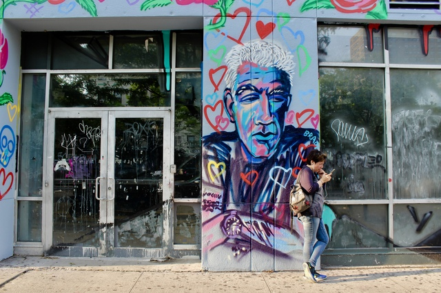 A Mural Honoring Anthony Bourdain Has Gone Up On The Lower East Side