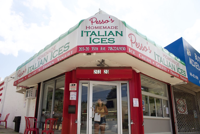 A Trip To Pesso's, A Beloved Ice Shop In Bayside, Queens