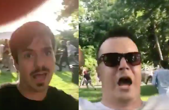 New Video Gives Closer Look At White Supremacists Who Held Rally In Fort Tryon Park