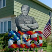 Staten Island 'Creative Patriot' Erects Brawny Trump Lawn Art To 'Provoke Emotions'