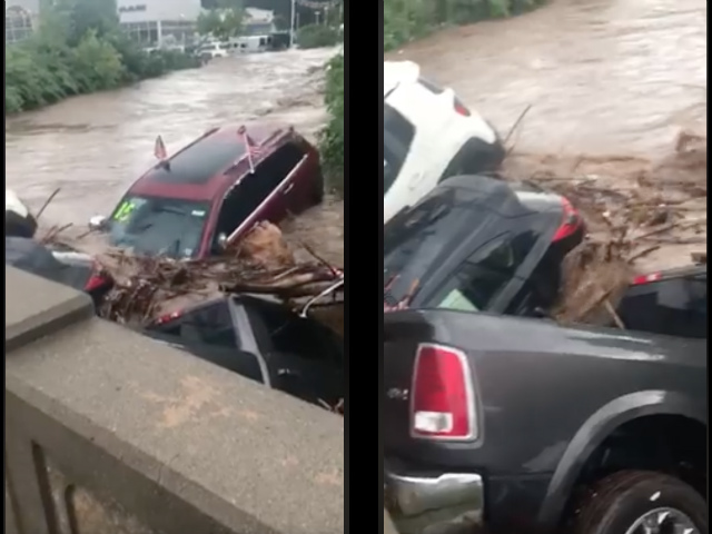 Video: NJ Car Dealership Deals With Insane Flooding Fallout