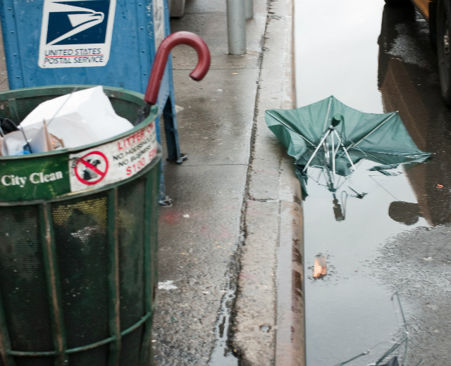 As The Sanitation Department Gets Rid Of Trash Baskets, Find Out How Many Are Left In Your Neighborhood