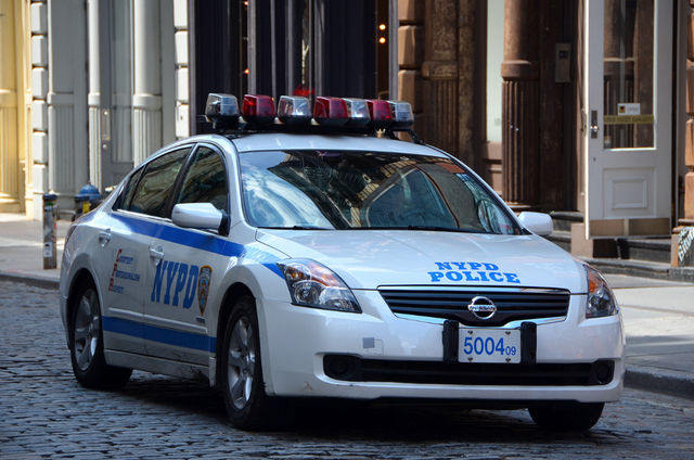 Video: Bold Dealer Measures Out Weed Atop NYPD Squad Car