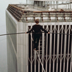 44 Years Ago Philippe Petit Walked On A Wire Between The Twin Towers