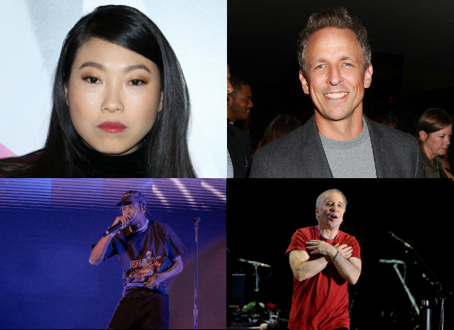 Awkwafina, Seth Meyers, Paul Simon & Travis Scott Headed To SNL In October