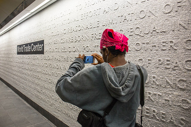 Photos: Cortlandt Street 1 Subway Station Reopens 17 Years After 9/11 Destruction