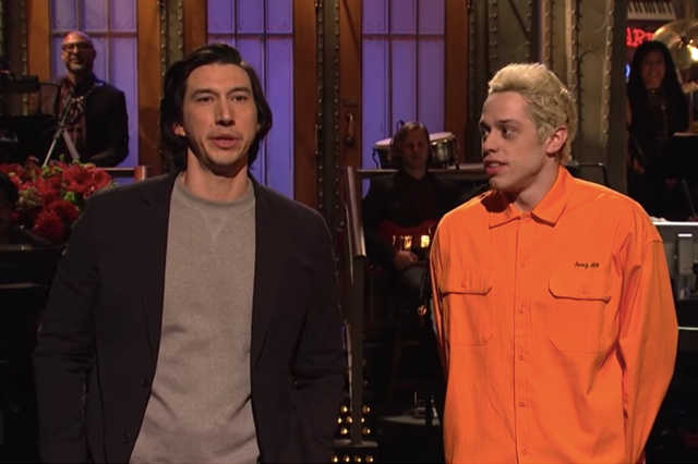 Photos, Videos: SNL Returns For Season 44 With Adam Driver And Kanye West (Who Wore A MAGA Hat)