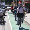 Will Double Parking 'Culture' Destroy A Protected Inwood Bike Lane?