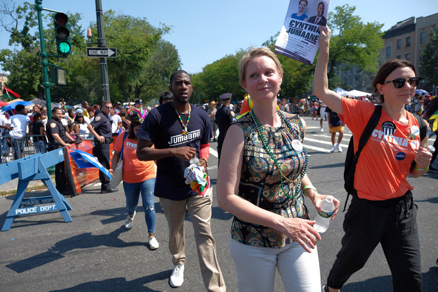 Six Minutes With Cynthia Nixon, Candidate For Governor