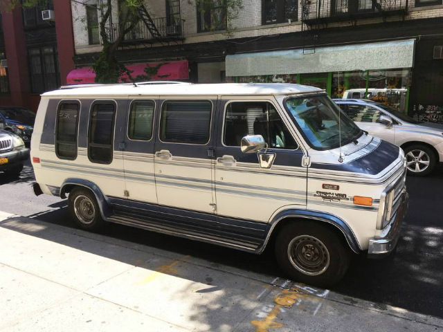The Most Rockin' Airbnb Listing In NYC Is This Custom Van Parked In Soho