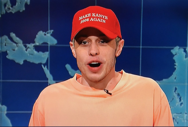 SNL Video: Pete Davidson Tells Kanye West 'Being Mentally Ill Is Not An Excuse To Act Like A Jackass'