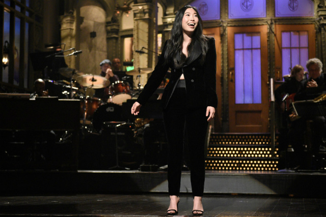 Awkwafina Pays Tribute To Lucy Liu While Hosting 'Saturday Night Live'
