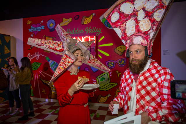 Inside Williamsburg's Museum Of Pizza Instagram Funhouse