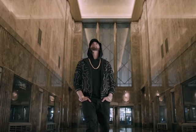 That Random Empire State Building Light Show Was For This Eminem 'Venom' Performance