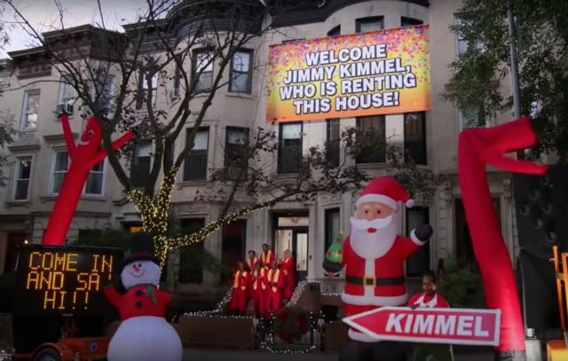 John Krasinski Blows Up Jimmy Kimmel's Park Slope Airbnb Spot With New Prank