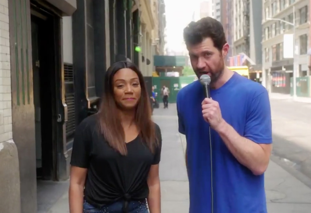 Billy Eichner & Tiffany Haddish Ask NYers To Join Their Inclusive Remake Of 'Hocus Pocus'