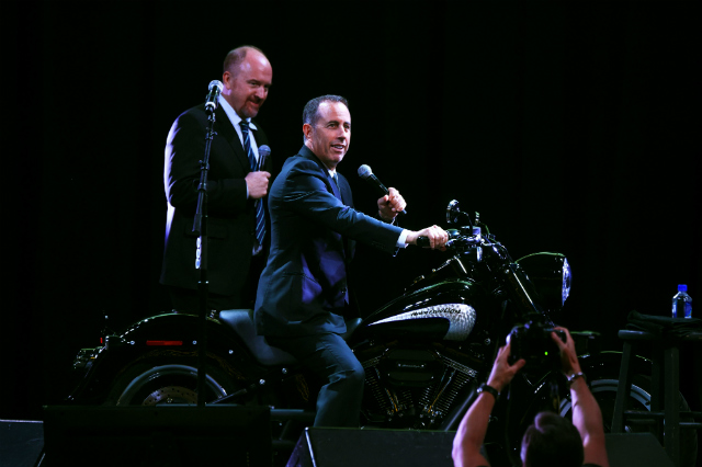 Jerry Seinfeld Says Louis C.K. Chose The Wrong Way To Launch Comedy Comeback